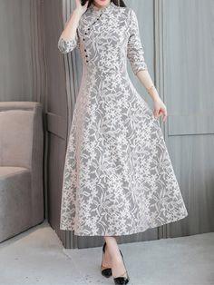 Pin by Lady Jennifer on Vestidos lady in 2020 Designs For Dresses, Dress Neck Designs, Middy Dress, Stylewe Dresses, Long Cocktail Dress, Cocktail Dresses Online, Kurta Neck Design, Dress Indian Style, Kurta Designs Women