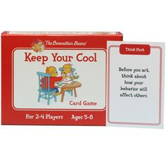 Berenstain Bears - Keep Your Cool Card Game $23.95