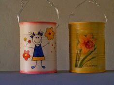 Boy Or Girl, Planter Pots, Tableware, Mary, Girls, Ideas, Gardens, Recycling, Elementary Art