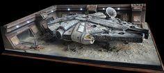 millennium falcon diorama - Google Search