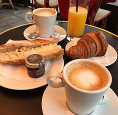 The perfect Parisian breakfast.