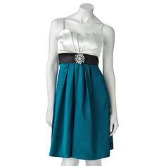 IZ Buyer Pleated Satin Dress, Kohls.com