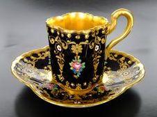 tea cup and saucer 17 (Demitasse??)