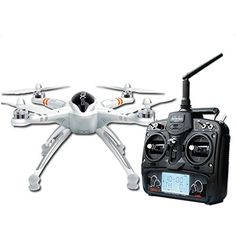 Walkera QR X350 Pro Quadcopter GPS Drone with Devo 7 Transmitter RTF GPS Altitude Hold System One Key Return Home Compass Sensor Plug and Play G-2D Gimbal Support (not included) LiPO and Brushless Power