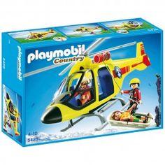 Hélicoptère de secours en montagne Playmobil 5428