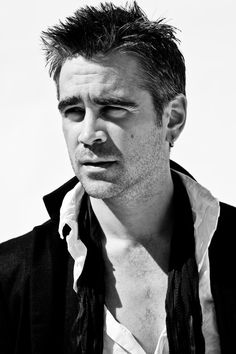 Colin Farrell (1976) - Irish film actor. Photo by  Michael Muller