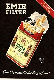 Emir Zigaretten, gibt es inzwischen nicht mehr.  #Zigaretten #Tabak