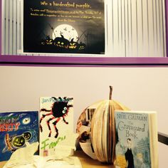 Our mice and pumpkin as part of our Halloween display.