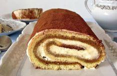 Biscuit roulé façon tiramisu au Thermomix, un délicieux gâteau rouléavec le bon goût de tiramisu, facile et simple à réaliser pour un dessert gourmand.