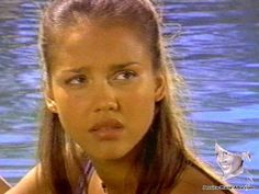 Young Jessica Alba Flipper Although young, she has