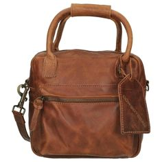 Cowboysbag Bags Tassen Schoudertassen Cognac | van Os tassen en koffers