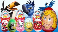20 Kinder Surprise eggs Disney FROZEN Hello Kitty Mickey Filly Cars 2 Kinder Joy Rio 2 Spiderman https://www.youtube.com/watch?v=EmTo1KJ1-jk
