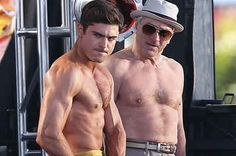 More Pictures Of Zac Efron Half Naked And Doing Insane Things On His New Movie Set