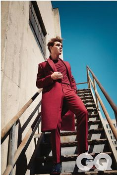 """KJ Apa photographed by Doug Inglish for GQ Style "" Archie Andrews Riverdale, Riverdale Archie, Kj Apa Riverdale, Riverdale Cast, Archie Andrews Aesthetic, James Fitzgerald, Tropical Fashion, Cole Sprouse, Ginger Men"