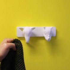 Download Animal Coat Hanger - Elephant and Rhino  by Ricardo Salomao
