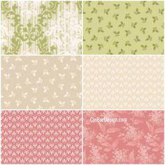 5x Assorted Floral DIY Craft Pre Cut Charm 50cm*50cm Quilt 100/% Cotton Fabric
