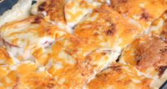Nacho Cheese Scalloped Potatoes