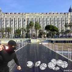 {TOP 10 REAL LIFE DIAMOND HEISTS IN HISTORY - NUMBER 7 CARLTON HOTEL, CANNES, FRANCE} The Carlton Hotel in Cannes, France is a luxurious place, which houses a high-end jewelry shop that regularly features jewelry expos and exhibits. At the end of the shopping day on August 11, 1994, three masked men armed with automatic machine guns entered the store and began shooting. As employees ducked for cover, the men quickly smashed display cases, and made off with an estimated $60 million in mostly…