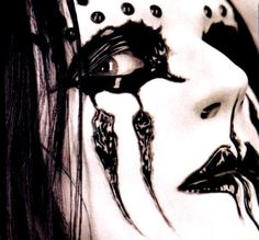 Joey Jordison's photo that inspired my ink!
