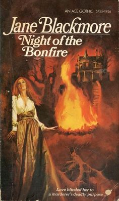 Night of the Bonfire - Jane Blackmore - Ace Books - Acceptable - Paperback