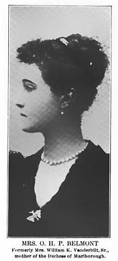 Mrs. O. H. P. Belmont (the former Mrs. W. K. Vanderbilt) Pictured (1905) in The Era Magazine: an illustrated monthly