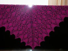 Роза прерий - Preirie Rose, http://www.ravelry.com/patterns/library/prairie-rose-lace-shawl На русском: http://www.liveinternet.ru/users/32...