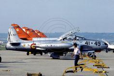 Spanish Air Force Ala 41 Lockheed T-33A E.15-7/41-49 (1982)