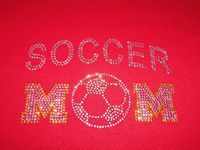 Soccer Mom Rhinestone Tee