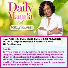 DM#242 30 Days in Hebrews Chapter 11 with Day 28