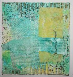 Paperlicious Designs: Mixed Media Cardboard Art Tutorial