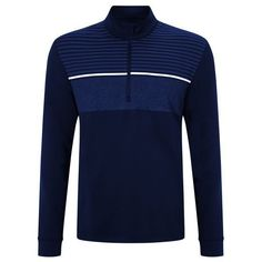 Callaway Chest Striped Sweater UPF50 Navy Large TD086 YY 18  fashion   clothing  shoes 903364fd5b76