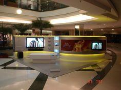 Ag. Tátil Design: Philips PDV's Shoppings 25 m2 on Behance