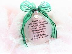 In Memory of Parents Memorial Christmas Ornament - Feather from an Angel - Mom & Dad in Heaven - Loss of Parents Sympathy GIft - Bereavement Memorial Ornaments, Memorial Gifts, Memorial Ideas, Glitter Ornaments, Glass Ornaments, Ornaments Ideas, Christmas Crafts, Christmas Ornaments, Christmas Ideas