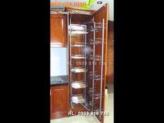 Phụ kiện cho tủ bếp - Tủ đổ khô 12 rổ Higold