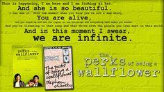 The Perks of Being a Wallflower. Las Ventajas de ser Invisible. Book / Movie Review. Mi libro favorito!