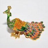 Colorful Peacock Handmade Art
