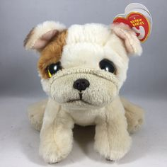 From the Ty Beanie Babies collection. Ty Beanie Boos, Beanie Babies, Pet Toys, Pugs, Presents, Teddy Bear, Dolls, Christmas, Baby