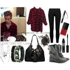 Dinner Date With Luke || alyssahoran38 on polyvore. ~ COMMENT REQUESTS FOR EDITS LIKE THESE OR IMAGINES ~ xx