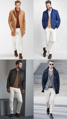 11 Outdated Style Rules You Should Break Mens Fashion Suits, Mens Suits, Trouser Outfits, Mens Flannel Shirt, Urban Fashion, Men's Fashion, White Pants, Timeless Fashion, Bomber Jacket