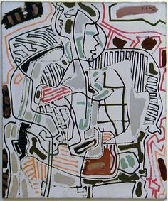 View Playing Card Girl By Patrick Heron; oil on canvas; 30 x 25 in. Access more artwork lots and estimated & realized auction prices on MutualArt. Abstract Artists, Oil On Canvas, Love Painting, Painting, British Art, Art, Abstract, Patrick Heron, Figurative Artists