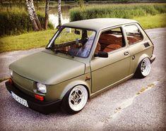 フィアット 126 / Fiat 126 | Lowered, Slammed