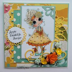 Besties card by Ria Vreven