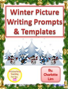 Winter Picture Writing Prompts & Templates by Colourful Teaching For You Picture Writing Prompts, Writing Bulletin Boards, Writing Skills, Writing Process, Opinion Writing, Writing Centers, Teacher Resources, Writing Resources, Teaching Ideas