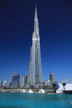 megatorre burj khalifa dubi el edificio ms alto del mundo emiratos arabesdubai asia pinterest