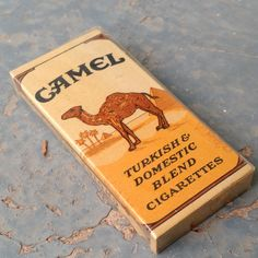 Vintage WWII Camel K-Ration Cigarette Pack by vavoombisbee on Etsy Wwii, Camel, Trending Outfits, Unique Jewelry, Handmade Gifts, Etsy, Vintage, Kid Craft Gifts, World War Ii
