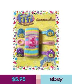 Hair Accessories Fifi And The Flowertots Party Supplies Giftware - Hair Accessories Set - 7 Piece #ebay #Fashion