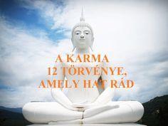 A karma törvénye szerint minden cselekedetünk egy annak megfelelő következménnyel jár. Motto Quotes, Spiritual Coach, Mindfulness Meditation, Chakra Healing, Book Of Life, Buddhism, Happy Life, Inspirational Quotes, Thoughts