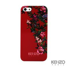 Coque Kenzo Fleur rouge