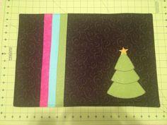 Christmas placemat: alternative colors
