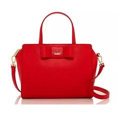Cherry red kate spade bow purse Kate Spade Purse 4c91ff1ffed1a